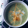 LOW CARB CREAM OF BROCCOLI & CHEDDAR SOUP