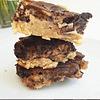 Keto Chocolate Pecan Pie Bars