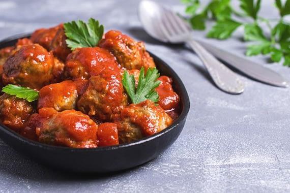 Meatballs and zucchini recipe keto