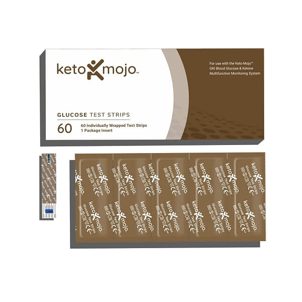 keto mojo glucose test strips