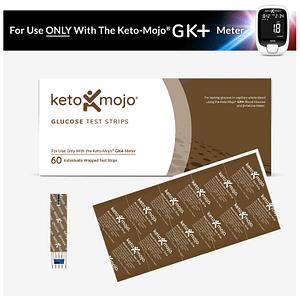 keto mojo glucose strips